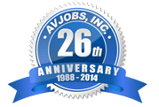 "Avjobs.com celebrates 26 years of service. We are very proud of our accomplishment and ""Thank You"" for making it possible. You can count on us to continue our long standing commitment to the aviation community."