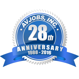 "Avjobs.com celebrates 28 years of service. We are very proud of our accomplishment and ""Thank You"" for making it possible. You can count on us to continue our long standing commitment to the aviation community."